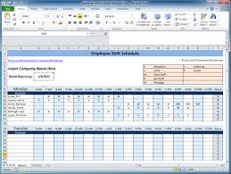 excel template planner free employee and shift schedule templates weekly shift schedule