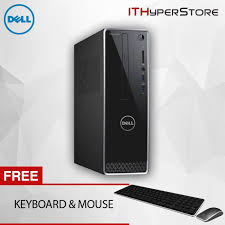 Small Desk Top Dell Inspiron 3268 40812g W10 Small Desktop Pc