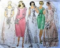 vogue wedding dress patterns bridal wedding patterns