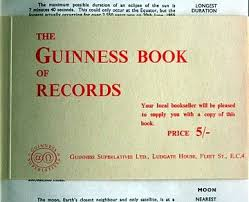 guinness record book collecting