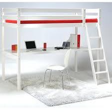 banquette bureau lit mezzanine avec bureau blanc 1 place banquette 18 tout