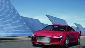 audi r8 e tron officially unveiled with 4 500nm of torque video
