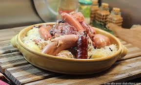cuisiner la choucroute choucroute garnie