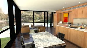 Philip Johnson Glass House Floor Plan by Prefab Glass House Lets You Bring Home The Spirit Of Philip