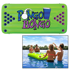 Pool Beer Pong Table by Floating Beer Pong Table