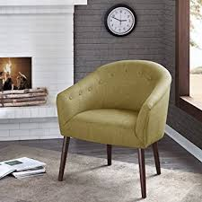 Barrel Accent Chair Camilla Barrel Back Accent Chair Green See Below