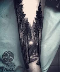the 25 best forest tattoos ideas on tree tattoos