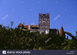 romania the castle of bram said to be the home of dracula stock