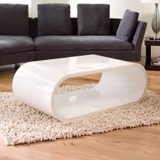 White Coffee Tables A Space Saving Alternative To A Coffee Table The Smaller Of These