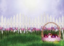 easter backdrops photo backdrop