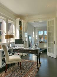 Built In Bookshelves With Desk by Upholstered Desk Chair Home Office Farmhouse With Built In Desks