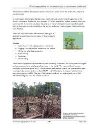ks4 rainforests teachit geography