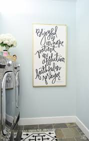 pretty functional laundry room details room reveal zdesign beautiful laundry room ideas house of belonging romans 12 12 sign woodlawn blue hc