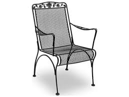 Rod Iron Dining Chairs Meadowcraft Dogwood Wrought Iron Dining Chair Price Includes 2
