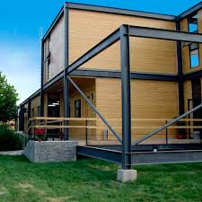 prefab house original design wood wooden steel structure with