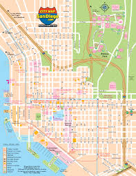 Map Of San Diego Neighborhoods by Downtown Map Of San Diego You Can See A Map Of Many Places On