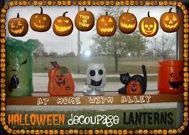 halloween tea lights halloween decoupage lanterns