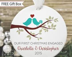 our married ornament wedding gift personalized