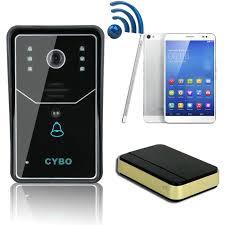 front door video camera wireless 3g wifi ip video door phone intercoms doorbell ip door