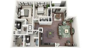 in apartment plans 19 awesome 3d apartment plans with two bedrooms part 1