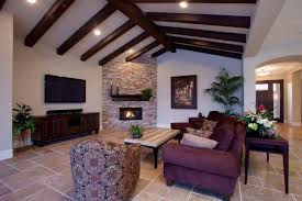 architecture interesting dining room design with faux wood beams