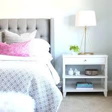 nightstand round nightstands target tall white night stand accent