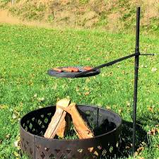 Bbq Firepit Pit With Grill Hixathens