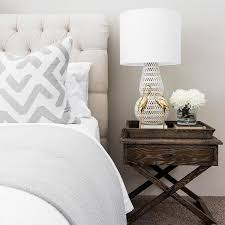Tufted Linen Headboard by Natural Linen Headboard Design Ideas