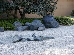 huntington library japanese zen rock garden spring flickr
