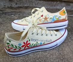 wedding shoes converse folk bohemian shoes converse wedding shoes custom s