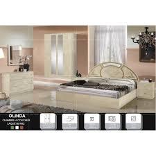 ensemble de chambre olinda laque ivoire et dore ensemble chambre a coucher achat