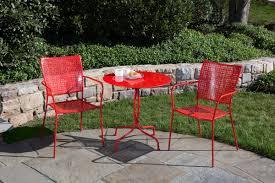 Bistro Patio Furniture Sets - alfresco home martini 3 piece bistro set u0026 reviews wayfair