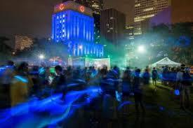 Light The Night Houston Blue Cure Night Run 2015 365 Houston