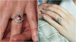 engaged ring photos princess eugenie s engagement ring looks like