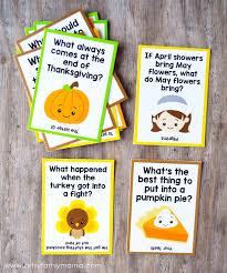 free printable thanksgiving lunch box jokes artsy fartsy