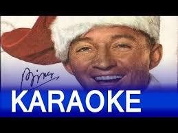 bing crosby u2013 white christmas lyrics instrumental karaoke youtube