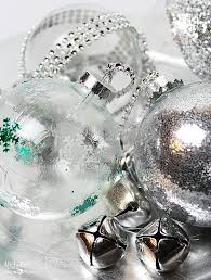 Clear Christmas Ornaments To Decorate by Diy Ideas To Decorate Clear Ornaments Creative Juice