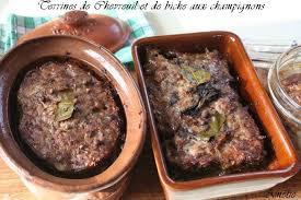 comment cuisiner du cerf la table lorraine d amelie terrine de foie de biche et de chevreuil