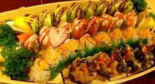 shogun japanese cuisine house special roll boat picture of izakaya shogun japanese sushi