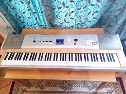 bargain yamaha dgx 630 portable grand piano in
