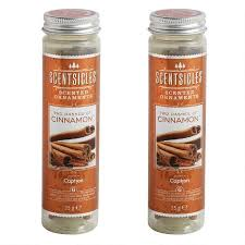 scentsicles cinnamon scented ornaments set of 12