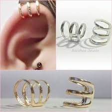 non metal earrings 397 best hoop earrings clip on non pierced images on