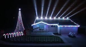 the great christmas light show star wars music christmas lights show 2014