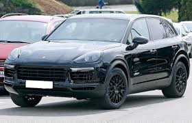 2018 porsche cayenne spied www in4ride net