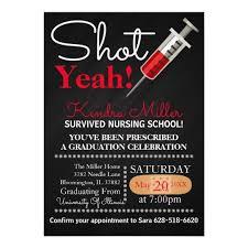 nursing school graduation invitations yeah nursing school graduation invitation zazzle