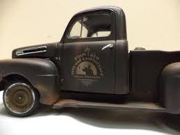 Old Ford Truck Kit Car - plastic models mark twain hobby center