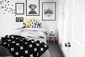 chambre fille noir et blanc chambre blanc et noir idées de décoration capreol us