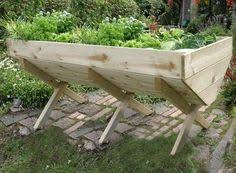 nice portable elevated planter patio pinterest planters