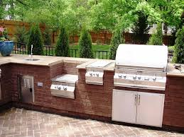 outdoor kitchen ideas on a budget bar stools beside pool brown outdoor kitchen ideas on a budget bar stools beside pool brown varnished wood kitchen island beige solid wood kitchen cupboards rectangular white ceramic