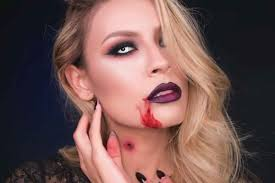 halloween vampire contacts 12 easy halloween makeup ideas reader u0027s digest